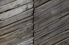 Texture rectangulaire de Gray Barn Wooden Wall Planking Vieux Grey Shabby Slats Background rustique en bois Obscurité de bois dur photo libre de droits