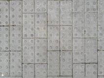 Texture rectifiée par briques de bloc Photos stock