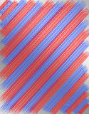 Texture from red and blue strips Royalty Free Stock Photos