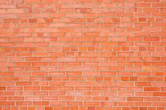 Texture of Red brick wall Stock Image