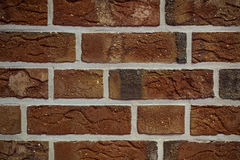 Texture of red brick wall background Stock Image