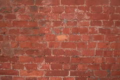 Texture of red brick wall Stock Photos