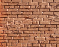 Texture of red brick wall Royalty Free Stock Photo