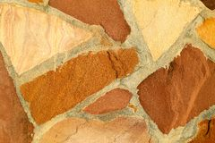 Texture of red brick Stock Images
