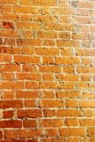 Texture of red brick Stock Photography