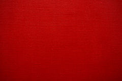 Texture of red canvas Stock Images