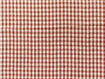 Texture red checkered picnic blanket. Texture of red checkered picnic blanket stock image