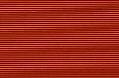 Texture of red corrugated paper Royalty Free Stock Photography