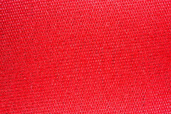 Texture of red fabric Stock Images