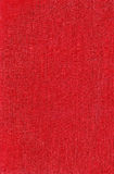 Texture of a red fabric Stock Photo