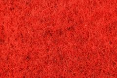 Texture of red fabric stock photo
