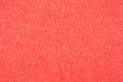 Texture of red foam rubber Stock Photo
