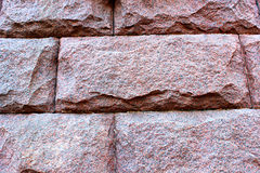 Texture of red granite. Texture of red rude unprocessed granite Stock Images
