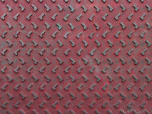 Texture of red and grunge rusty steel plate Royalty Free Stock Photography