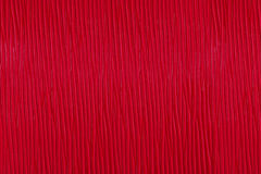 Texture of red leather. Ready to use for your design Royalty Free Stock Photo