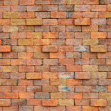 Texture of red old brick wall. For background Royalty Free Stock Images
