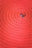 Texture of red rope Royalty Free Stock Photos