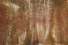 Texture of a red rusty metal Stock Photo