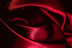 Texture of a red silk Royalty Free Stock Photo