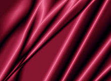 Texture of a red silk fabric Royalty Free Stock Images