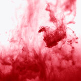 Texture of red smoke Royalty Free Stock Photo