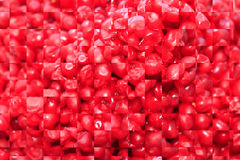 Texture from red strips Stock Photography