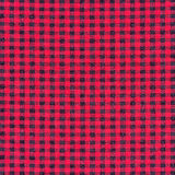 Texture of red tartan plaid textile fabric Stock Photo