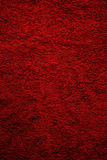 Texture of red terry towel Stock Photo