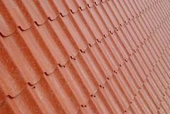 Texture of red tile. Royalty Free Stock Image