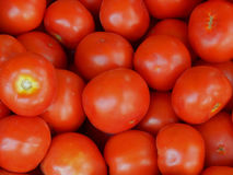 Texture of red tomatoes Royalty Free Stock Photography