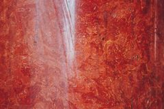 Texture of red and white marble stone close up. close-up layered rock structure.  stock photos