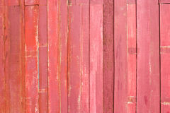 Texture of red wood. Texture red wood of the wall Stock Image