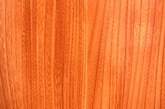 Texture of red wood to serve a Stock Images
