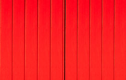 Texture of a red wooden Stock Images