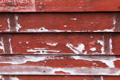 Texture red wooden boards Royalty Free Stock Images