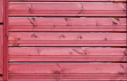 Texture, red wooden slats. Fence Stock Photo