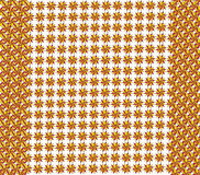 Texture from red and yellow figures Royalty Free Stock Photography