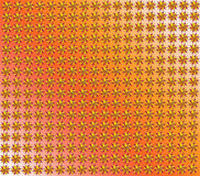 Texture from red and yellow figures Royalty Free Stock Photos