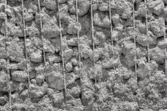 Texture of the reinforced concrete Royalty Free Stock Photo