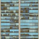 Texture resembling skyscraper windows Stock Photo