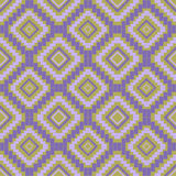 Texture with rhombus. Ethnic pattern royalty free illustration