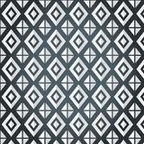 Texture of rhombus on a gray background. (seamless pattern). White rhombus in different kinds Royalty Free Illustration