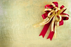 Texture with ribbon Royalty Free Stock Photography