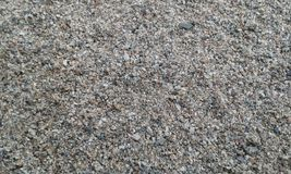 Texture of river sand Royalty Free Stock Photography