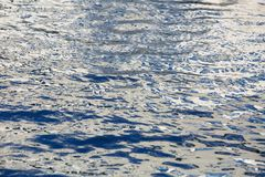 Texture of river surface royalty free stock photo