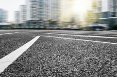 Texture of the road. Automotive advertising background Stock Photography