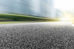 Texture of the road. City of automobile advertising background picture Stock Image
