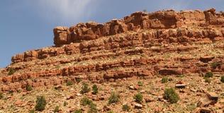 Texture rocheuse de falaise Photos libres de droits