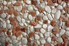 Texture rocheuse sur le mur photo libre de droits