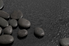 Texture rock. There is texture rock with drops water Royalty Free Stock Photography